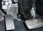 Ручное управление (ТГ-1), напольный вариант, газ под левую ногу для а/м с АКПП.